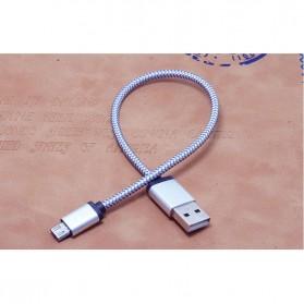Dragon Line Kabel Micro USB 21cm - Silver - 3