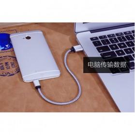 Dragon Line Kabel Micro USB 21cm - Silver - 4