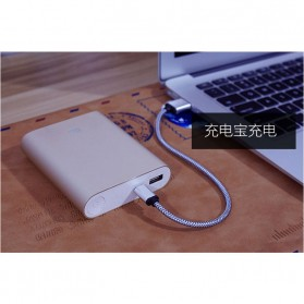 Dragon Line Kabel Micro USB 21cm - Silver - 6