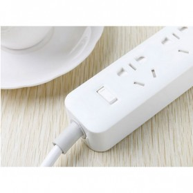 Kinco Powerstrip 3 USB Port + 3 Electric Plug - KU03 - White - 7