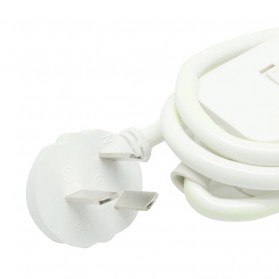 Kinco Powerstrip 3 USB Port + 3 Electric Plug - KU03 - White - 8