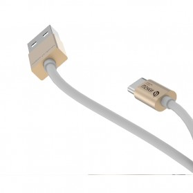 WSKEN Kabel Charger USB Type C High Quality - Golden