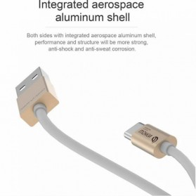 WSKEN Kabel Charger USB Type C High Quality - Golden - 3