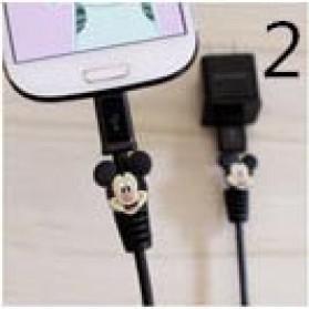 Pelindung Kabel USB Motif Kartun - Black