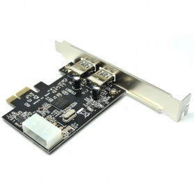 PCI-E 1x ke 2 USB 3.0 - 4