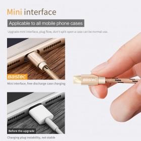 Bastec Kabel Charger Micro USB 0.5 Meter - Gray - 3