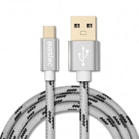 Bastec Kabel Charger USB Type C 0.5 Meter - Gray
