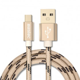 Bastec Kabel Charger USB Type C 0.5 Meter - Golden