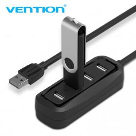 Vention USB Hub 2.0 4 Port 0.15 Meter - Black