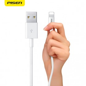 PISEN Kabel Charger Lightning Fast Charging - White