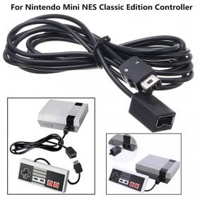 Kabel Extension Cord Nintendo NES Classic Mini Controller 3M - Black