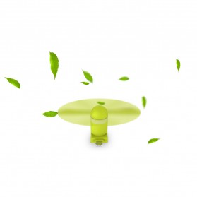 WSKEN Kipas Mini Portable Micro USB & Lightning - Green - 6