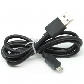 Kabel Micro USB to USB Smartphone 1M - Black