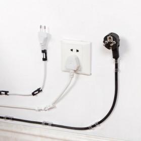 CARPRIE Klip Kabel Organizer Cable Clip 20 PCS - FT-8018 - Black - 3