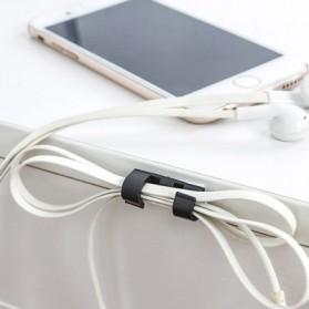 CARPRIE Klip Kabel Organizer Cable Clip 20 PCS - FT-8018 - Black - 4