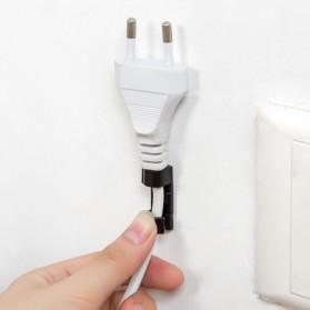 CARPRIE Klip Kabel Organizer Cable Clip 20 PCS - FT-8018 - White - 5