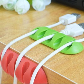 Striveday Klip Kabel Organizer Cable Clip - KR-8005 - Multi-Color - 4