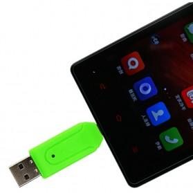 Robotsky USB OTG 2 in 1 Card Reader Universal - P20 - Black - 2
