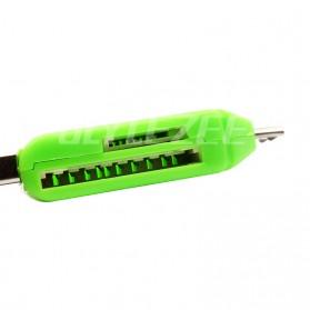 Robotsky USB OTG 2 in 1 Card Reader Universal - P20 - Black - 5