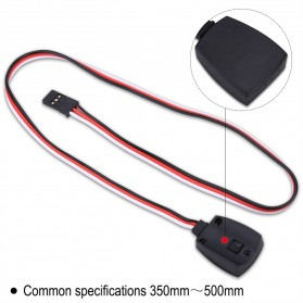 Kabel Sensor Temperature Probe Cable for Imax B5 B6 B6AC Charger - Black - 4
