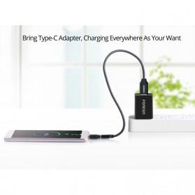 Fonken USB Type C to Micro USB OTG Smartphone - FK-CN-AZ-TPC - Black - 4