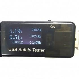 Digital USB Tester Voltase & Ampere - VA007 - Black - 2