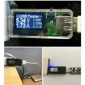 Digital USB Tester Voltase & Ampere - VA007 - Black - 5