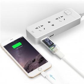 Digital USB Tester Voltase & Ampere - VA007 - Black - 7