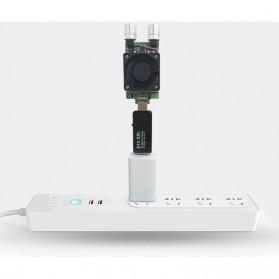 Digital USB Tester Voltase & Ampere - VA007 - Black - 9