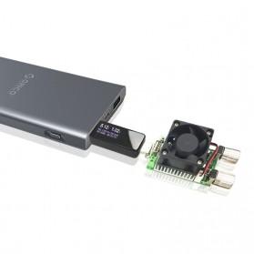 Digital USB Tester Voltase & Ampere - VA007 - Black - 10