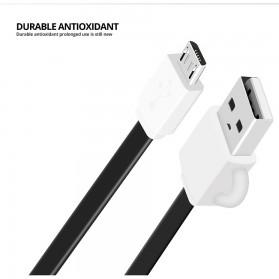 FONKEN Kabel Charger Micro USB 10cm Khusus Power Bank - FK-MTX-AZ - Black - 3
