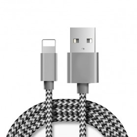 Choetech Kabel Charger Lightning Quick Charging 2.1A 1 Meter - Silver