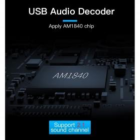 Vention External USB Sound Card - Black - 7