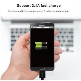 Kabel Data USB Micro B High Speed 3 Meter - Black - 3