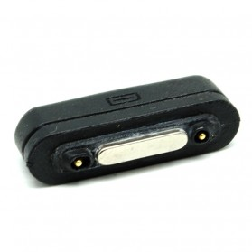Micro USB to Magnetic Charger Adapter Sony Xperia Z1 Z2 Z3 - Black - 2