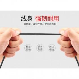 OLAF Kabel Charger USB Type C Braided L Shape 1 Meter - L88 - Black - 7