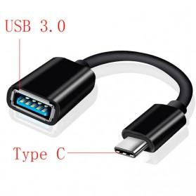 Robotsky Kabel USB Type C to USB 3.0 OTG Adapter - N1 - Black