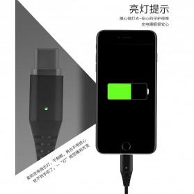 Kabel Charger Magnetic Micro USB 1 Meter - Black - 4