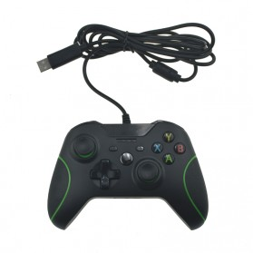 Gamepad USB Wired Xbox One PC - Black - 2