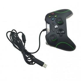 Gamepad USB Wired Xbox One PC - Black - 3