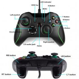 Gamepad USB Wired Xbox One PC - Black - 10