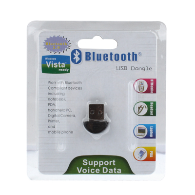 bluetooth usb dongle adapter v2 0 support csr chip. Black Bedroom Furniture Sets. Home Design Ideas