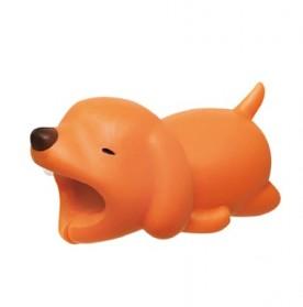 Pelindung Kabel Charger USB Protector model Binatang - Dog - Multi-Color