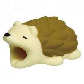 Pelindung Kabel Charger USB Protector model Binatang - Hedgehog - Multi-Color