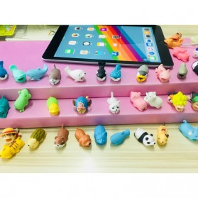 Pelindung Kabel Charger USB Protector model Binatang - Duck - Multi-Color - 4