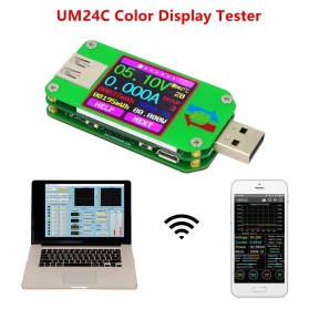 Rui Deng UM24C Voltmeter Ammeter Voltage Current USB Meter Bluetooth Version