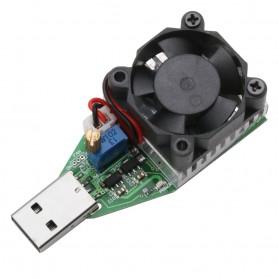 DC 3.7-13V USB 15W Adjustable Constant Current Electronic Load Discharger