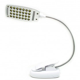Lampu Klip USB 28 LED - YHX-187 - White