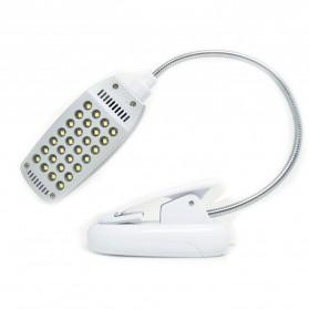 Lampu Klip USB 28 LED - YHX-187 - White - 3