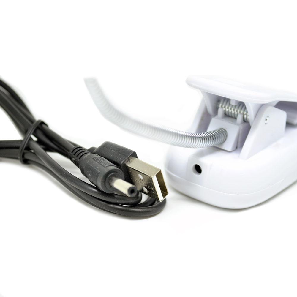 Lampu Klip USB 28 LED
